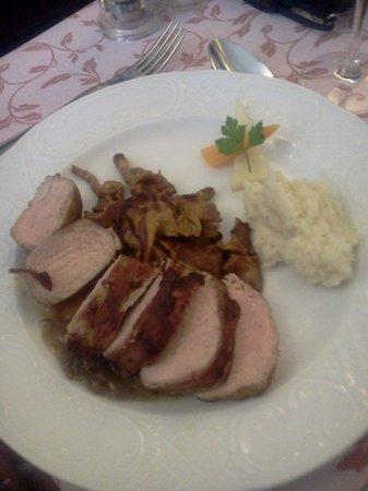A La Table du Bon Roi Stanislas: plat de viande