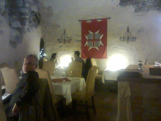 U Maltezskych Rytiru: Eating hall