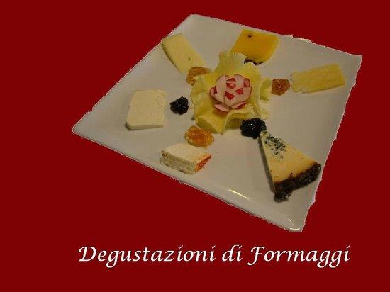 Rocca di Sala: Degustazioni formaggi