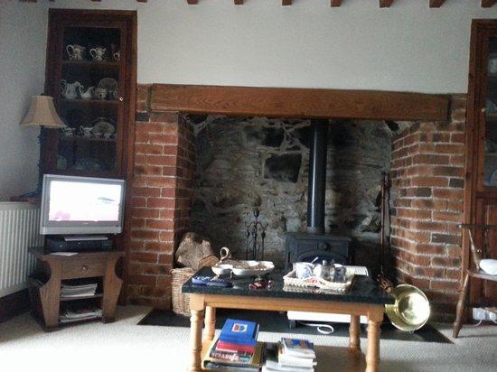 Penybryn Farmhouse : sitting room