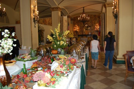 Windows on the Park: Buffet Station
