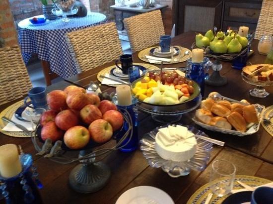 Marica B&B: Breakfast area