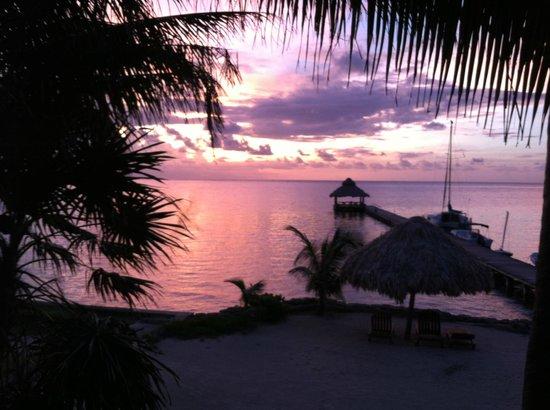 Xanadu Island Resort: sunrise from suite #3