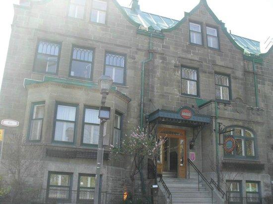 Hotel Chateau Bellevue: Vista del Hotel