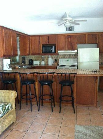Xanadu Island Resort: suite #7A kitchen