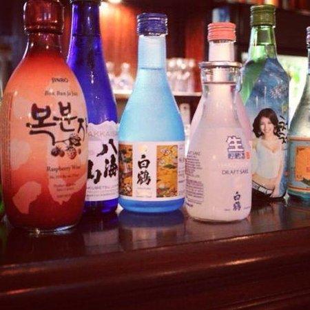 Hashigo Korean Kitchen: Sake and Soju selection at Hashigo Costa Mesa