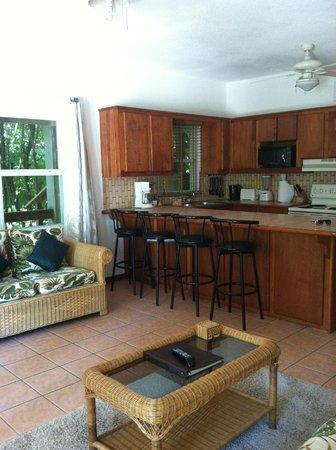 Xanadu Island Resort: suite #7A kitchen/living room