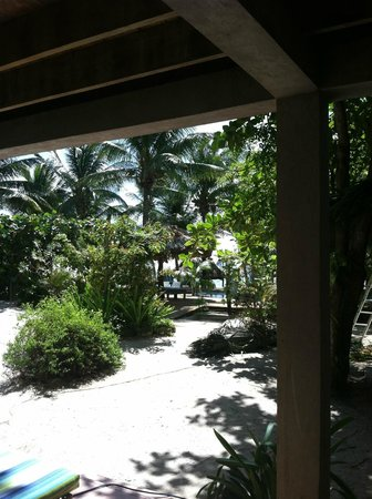 Xanadu Island Resort: view from suite #7A