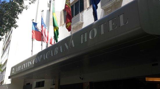 Atlantis Copacabana: FUERA DEL HOTEL