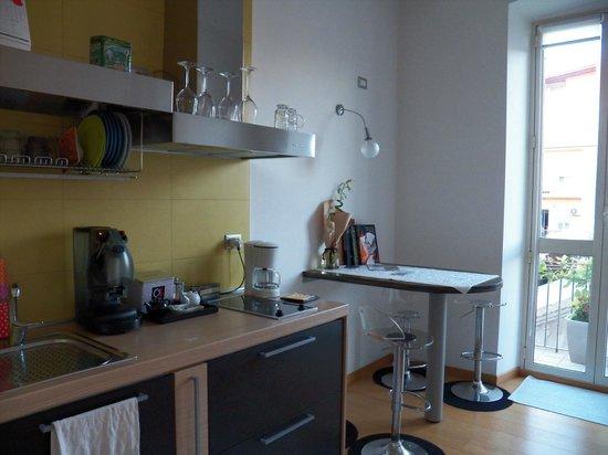 Marina di Castello: Communal Kitchen
