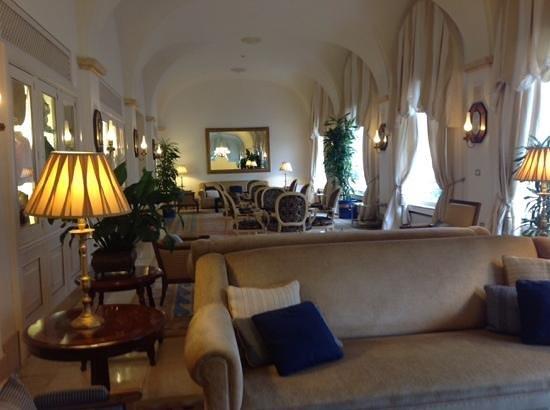 Eurostars Gran Hotel La Toja: uno de los salones