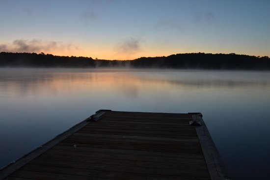 The Ritz-Carlton Reynolds, Lake Oconee: Dock at Sunrise