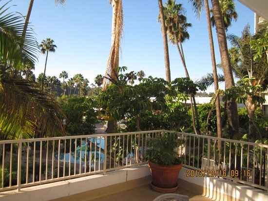 Town and Country San Diego : The view from our balcony