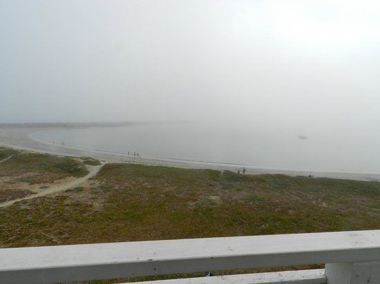 Beach House at Half Moon Bay: View from our Room - Unfortunately not so nice with the fog