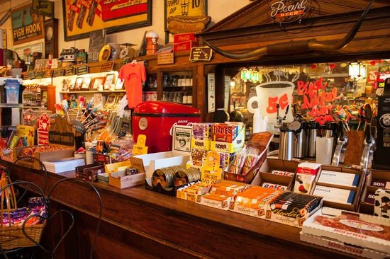 Jefferson General Store: View of the front counter