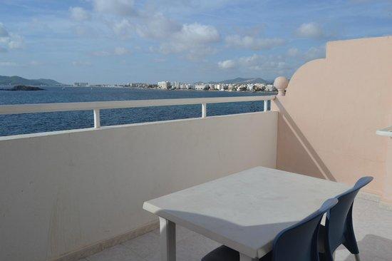 Hoteles Apartamentos Lux Mar: il terrazzino