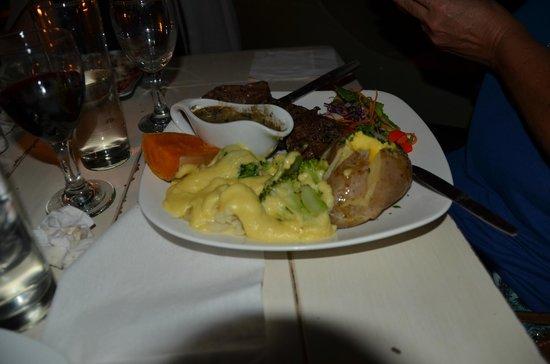 Bello Cibo Restaurant: springbok steak