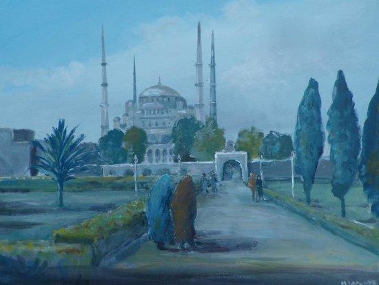 My Turkey Adventure - Tours: The Blue Mosque