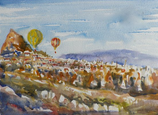 My Turkey Adventure - Tours: Ballooning over Capadoccia