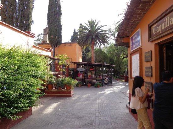 Mision Guanajuato : entrada del Hotel