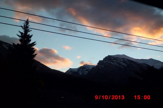 Days Inn Canmore: view from this window