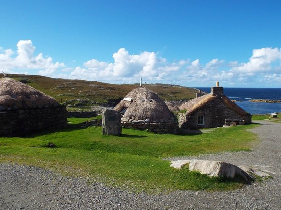 Black Houses, Carloway, Lewis, Scotland.