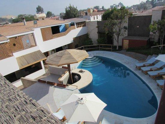 Hotel Villa Jazmin: View from room