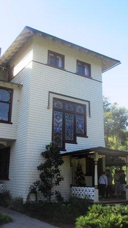 Stetson Mansion: Original windows are fantastically detailed.