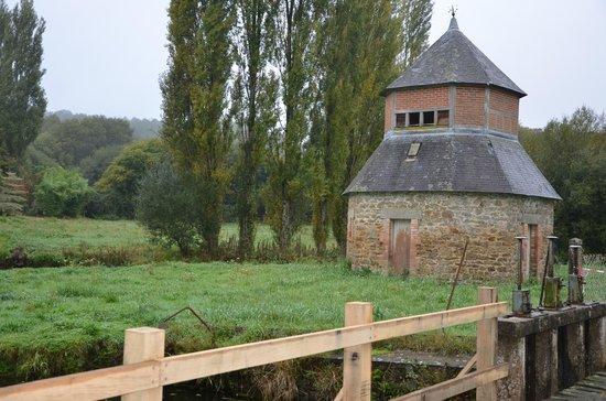 Moulin de la Beraudaie : Le pigonnier