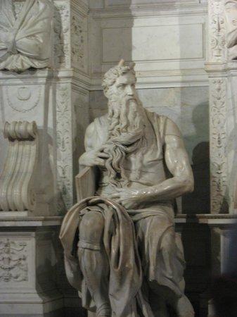 Rome, Italy: Moses