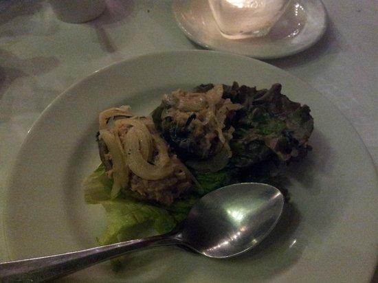 Casareyna: appetisers