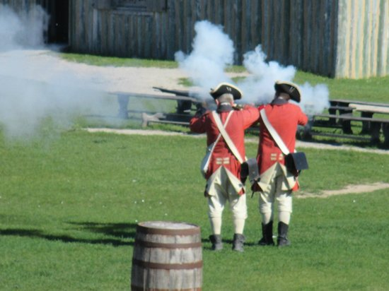 Colonial Michilimackinac : Musket Demonstration