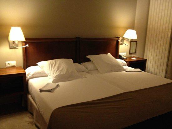 Parador de Argomaniz: Comfortable bed