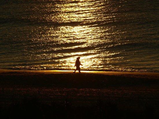 Blockade Runner Beach Resort: Sunrise walk