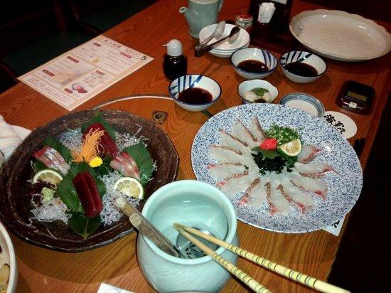 Kaienmaru Musashikosugi: 海鮮料理