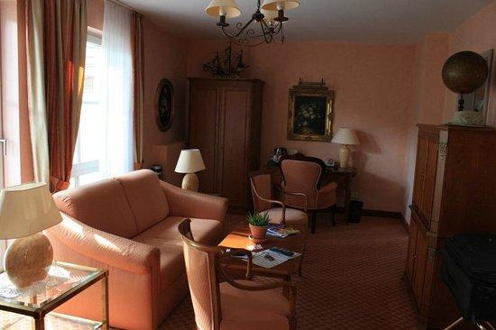 Hotel Villa Monte Vino : Sitting area