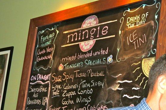 Mingle: The Specials Board