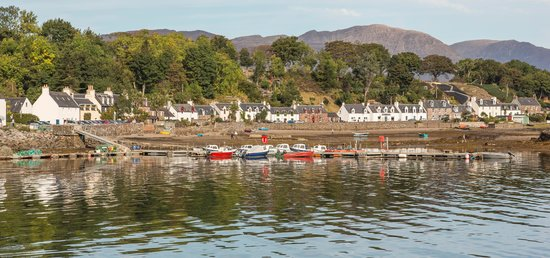 Plockton Gallery - The Manse: From the Sula Mhor