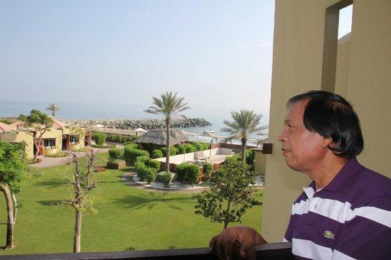 Hilton Fujairah Resort: View from the balcony Rm 216