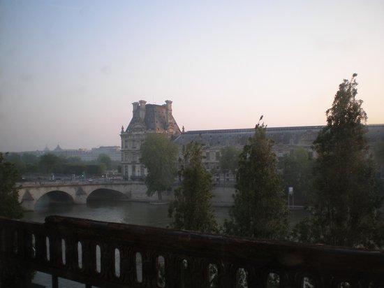 Hotel du Quai-Voltaire : 部屋からの眺め2