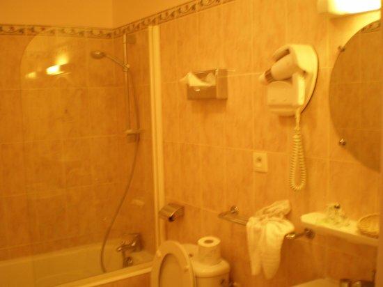 Hotel du Quai-Voltaire : バスルーム