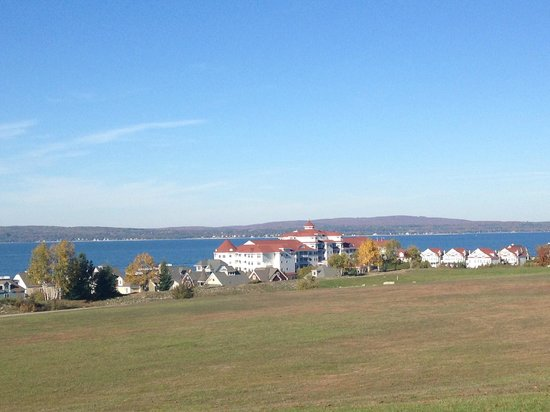 Inn at Bay Harbor, Autograph Collection Hotels: View of Hotel and Lake Michigan's Little Traverse Bay