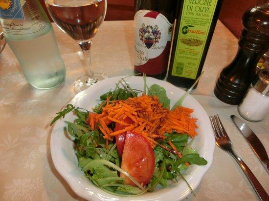 Taverna San Trovaso : サラダ
