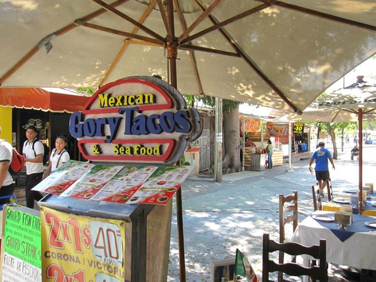 Entrance of Gory Tacos