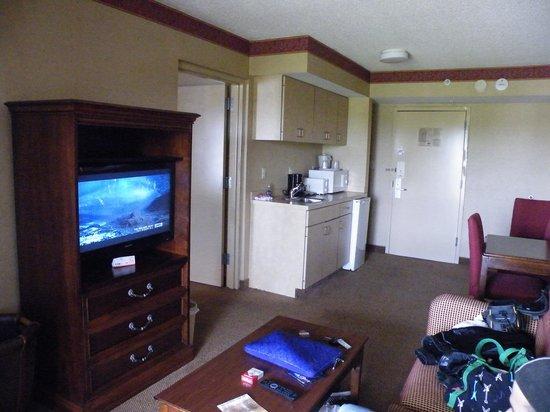 La Quinta Inn & Suites Pigeon Forge : Living area