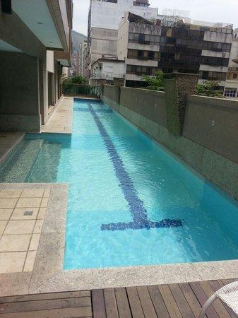 Mercure Rio de Janeiro Arpoador Hotel: Piscina