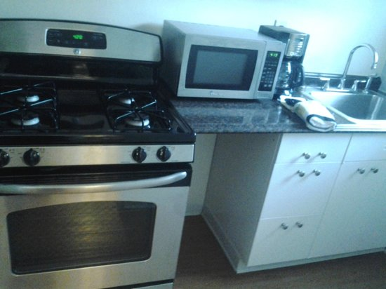 Shadyside Inn All Suites Hotel: Gas Stove in Full Kitchen