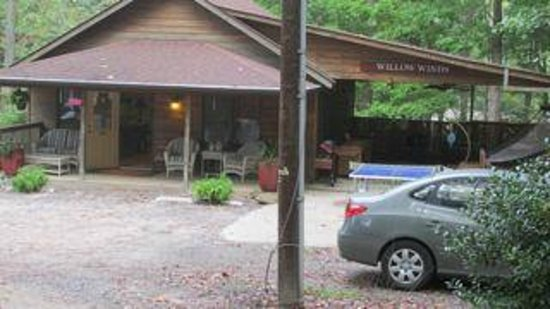 Asheville Cabins of Willow Winds : OFFICE - the command center for Willow Winds