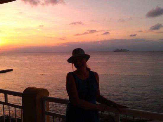 Playa Azul Golf, Scuba, Spa: Me on our balcony