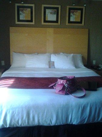 كومفرت سويتس مونروفيل: Large Bed with Slanted Back Board for Comfort